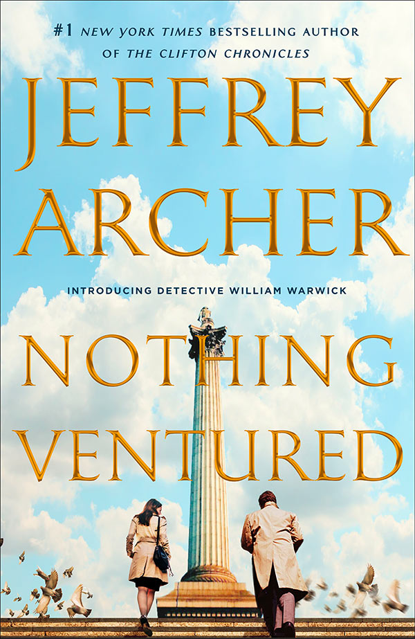 Nothing Ventured, by Jeffrey Archer - UK edition